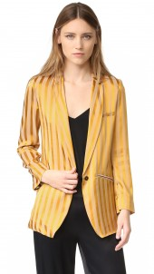 Satin Striped Jacket