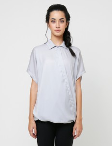 KOMMA Gray Dara Top
