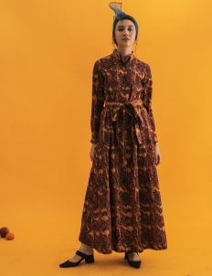 IKAT Indonesia by Didiet Maulana Astika Dress - Multicolor