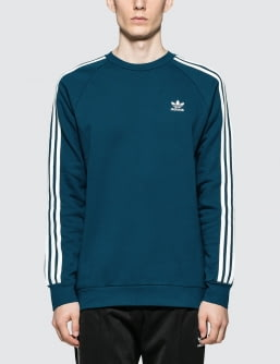 Adidas Originals 3-Stripes Crewneck Sweatshirt