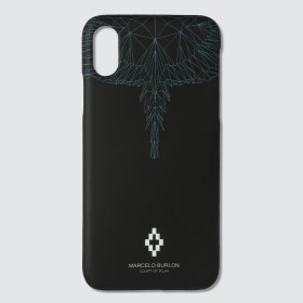 Neon Wings iPhone X Case