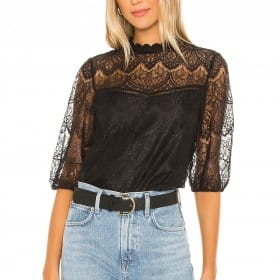 Icing On Top Lace Top