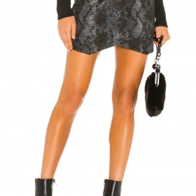 Jack By BB Dakota Python The Run Wrap Skirt