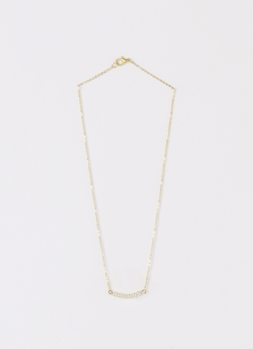 Bauble Bible Pearl Dainty Necklace - Medium