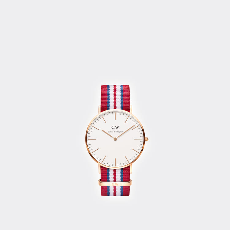 Daniel Wellington Classic Exeter Rose Gold Men's Watch