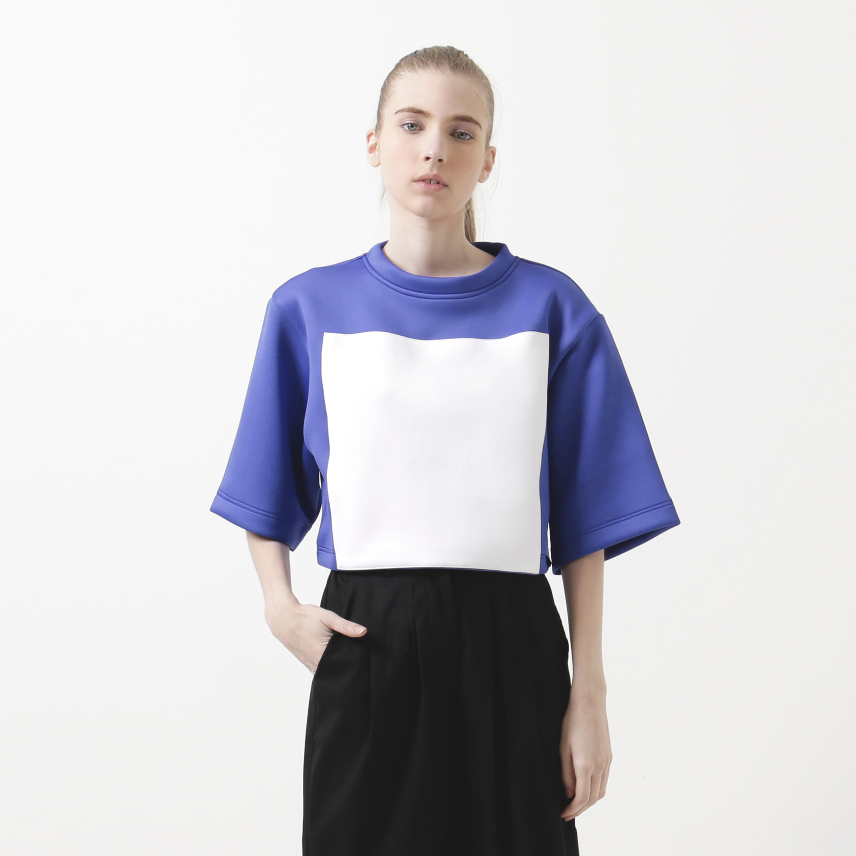 2144f1a9149ba Buy Original Spotlight Boxy Crop Top at Indonesia