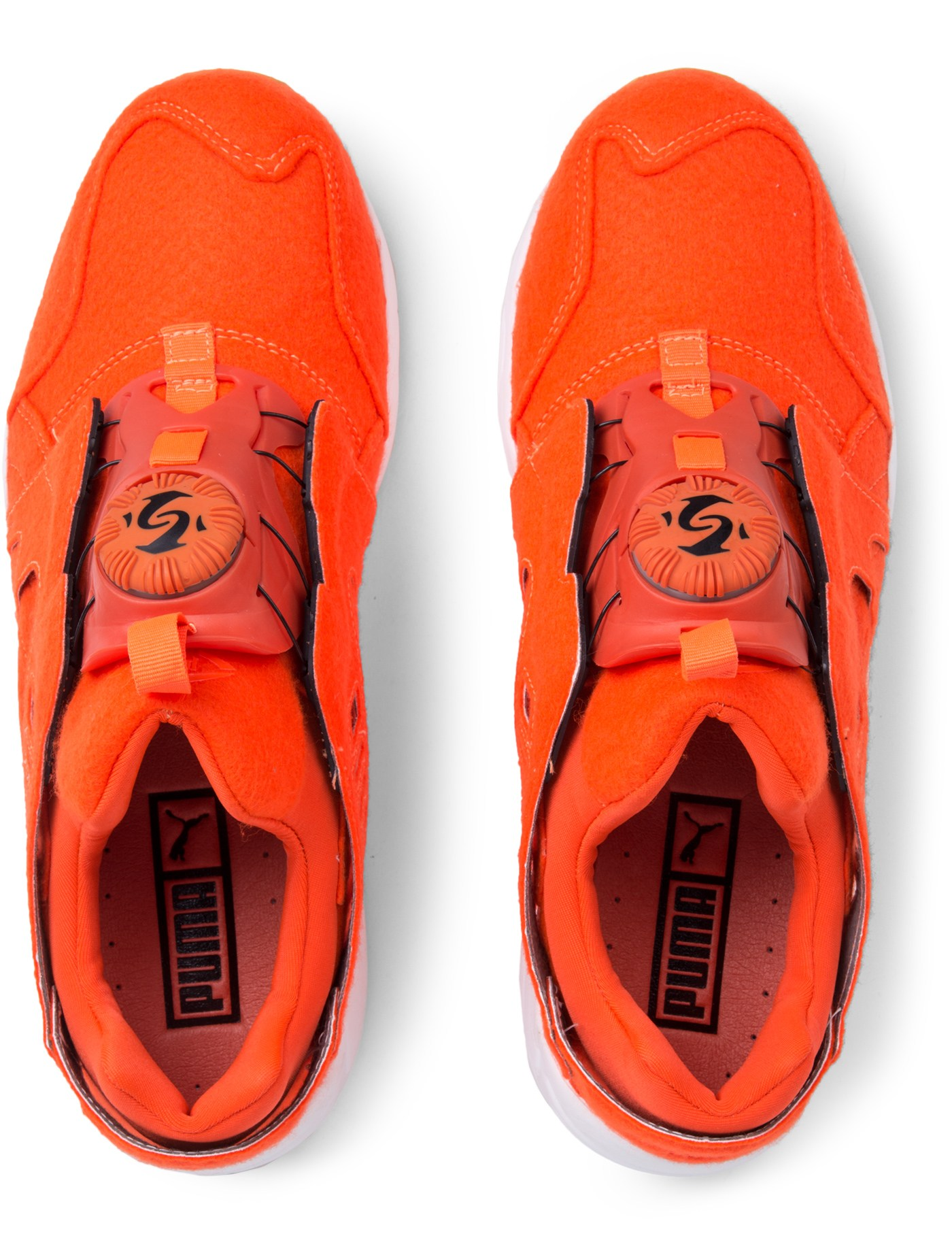 huge selection of ae8ec 6d841 ... Puma Orange Disc Blaze Bright ...