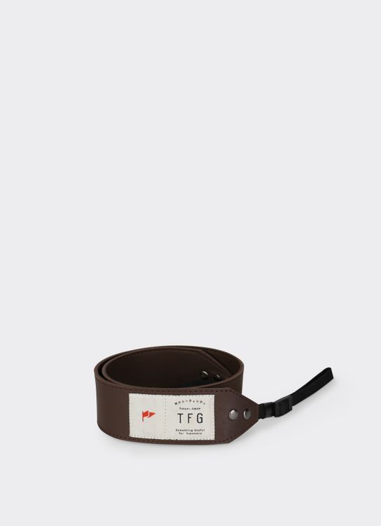 Taylor Fine Goods 203 Brown Camera Strap