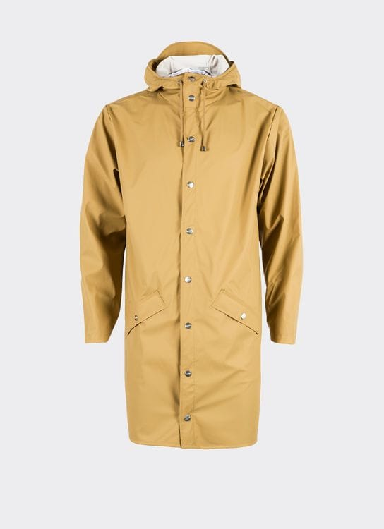 Rains Khaki Long Jacket