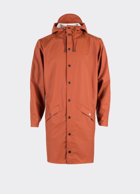 Rains Rust Long Jacket