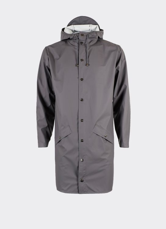Rains Smoke Long Jacket
