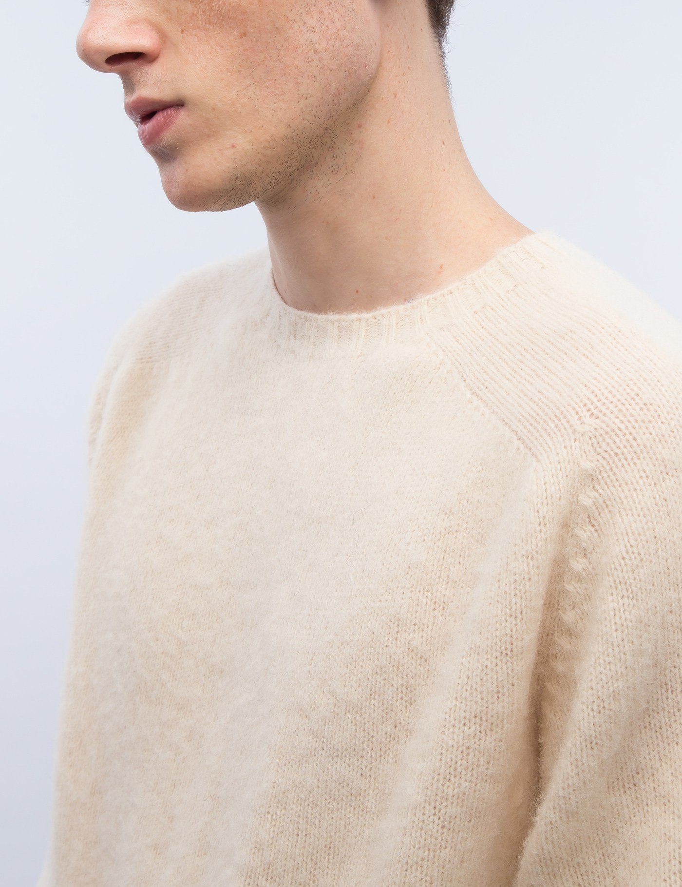 309fc4a127b833 Buy Original YMC Suedehead Brushed Knit Sweater at Indonesia