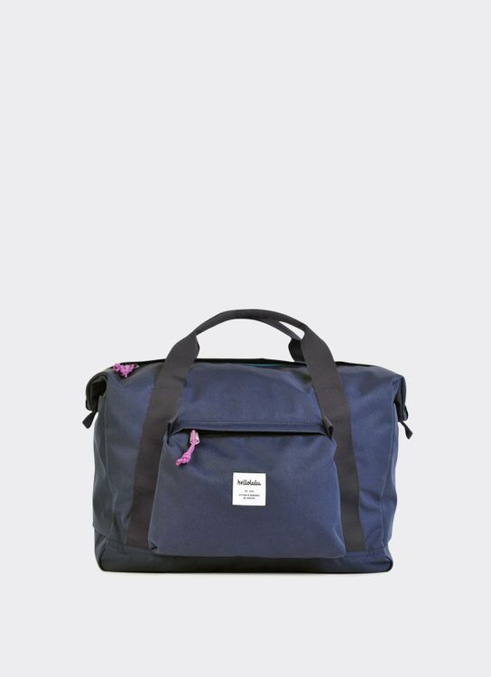 Hellolulu Navy Tobin All Day Duffel Bag