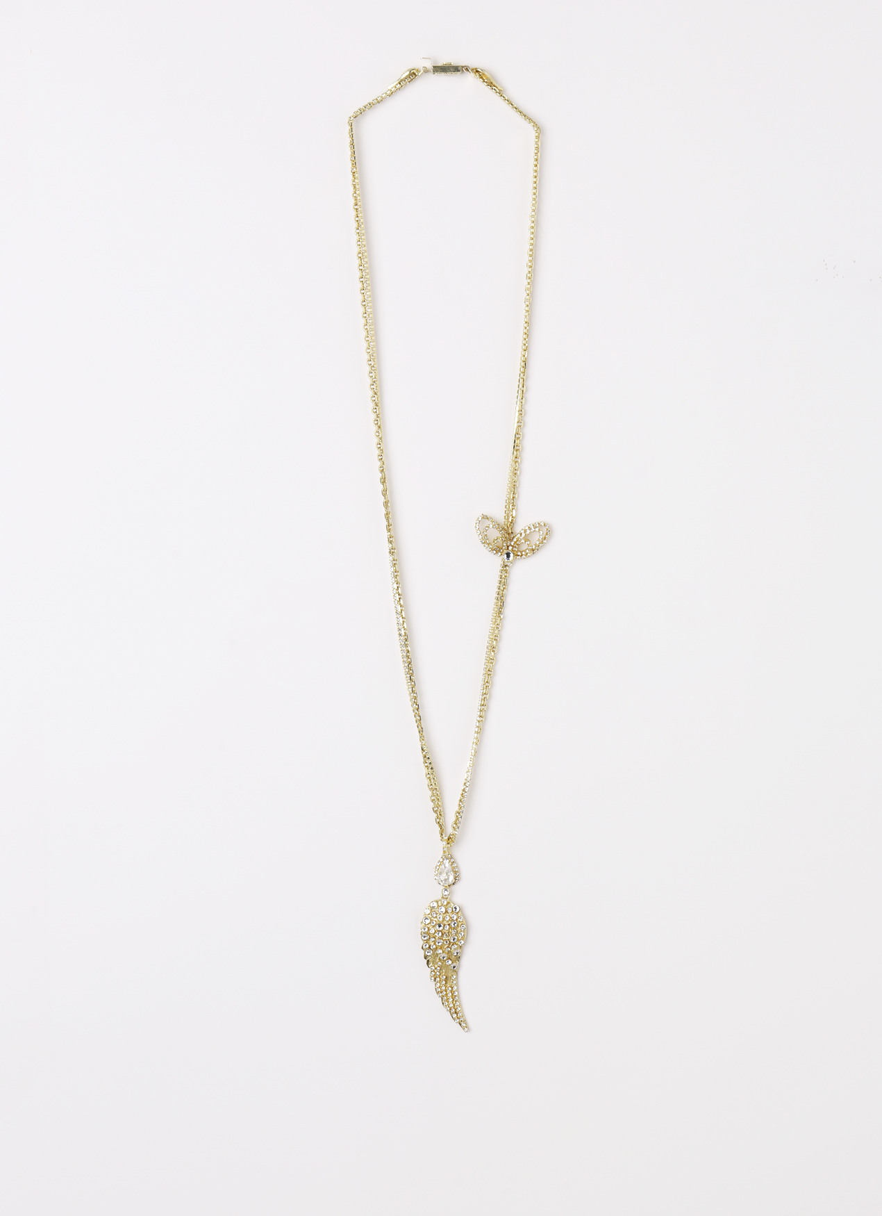 EPAJewel Gold Daily Glamrock Butterfly Necklace
