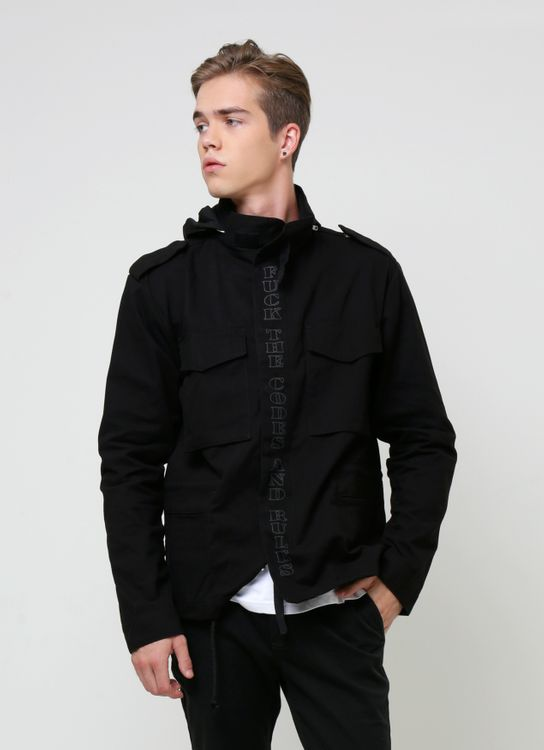 Influential Syndicate Black M-65 F.T.R.A.C Jacket