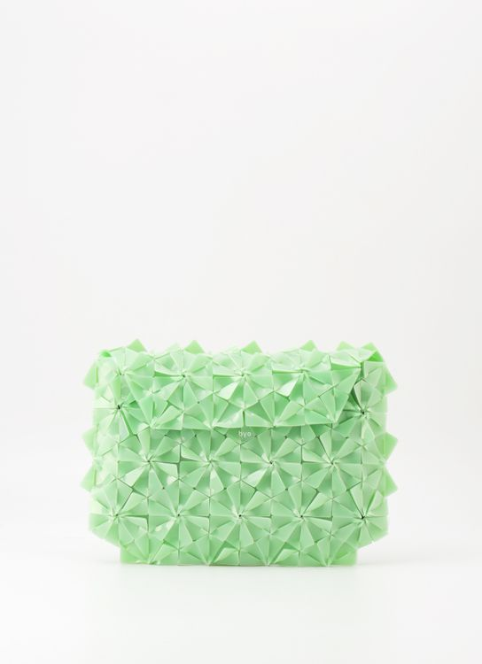 Byo Mint Warrior Clutch