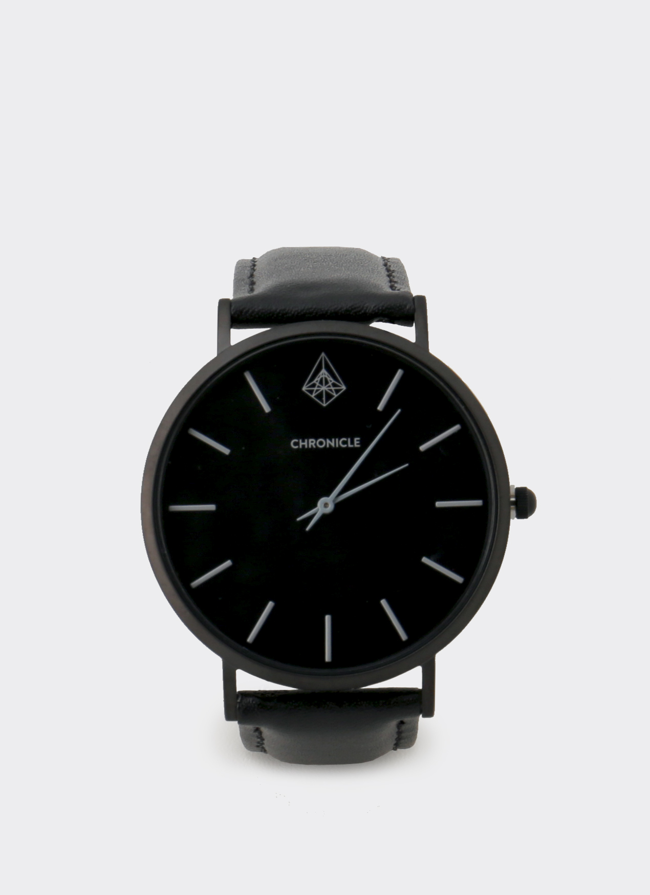 Chronicle Timepiece Black Gray Bouverie 40 mm Watches