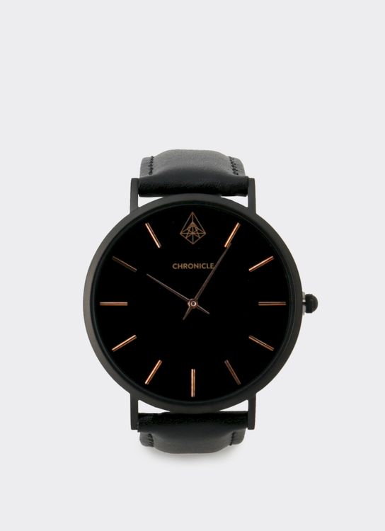 Chronicle Timepiece Black Rose Bouverie 40 mm Watches