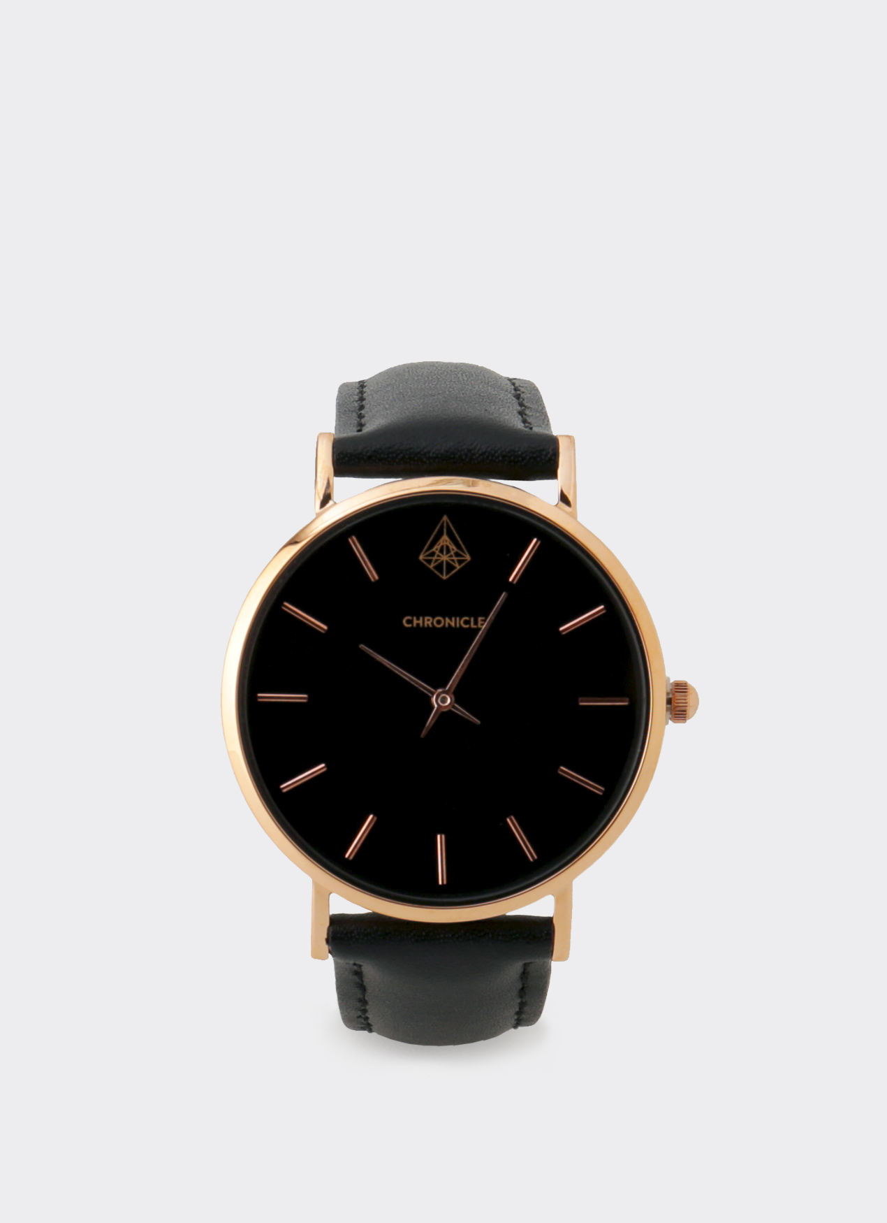 Chronicle Timepiece Rose Gold Bouverie 36 mm Watches