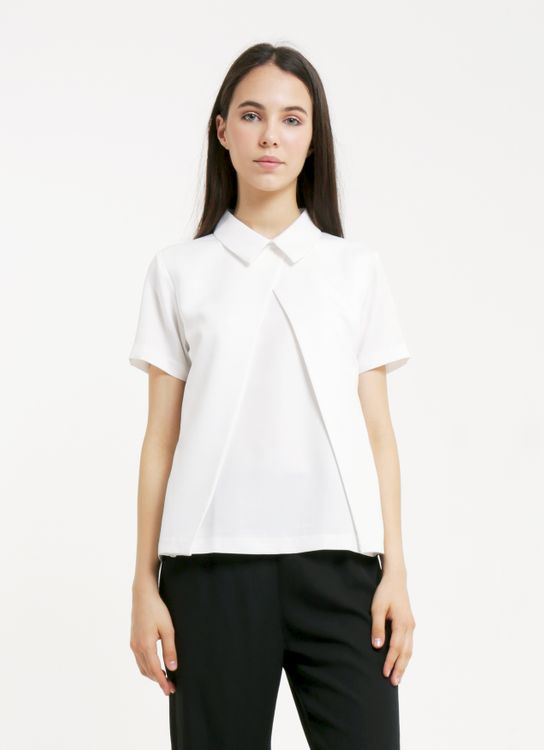 Krom Collective White Vera Shirt