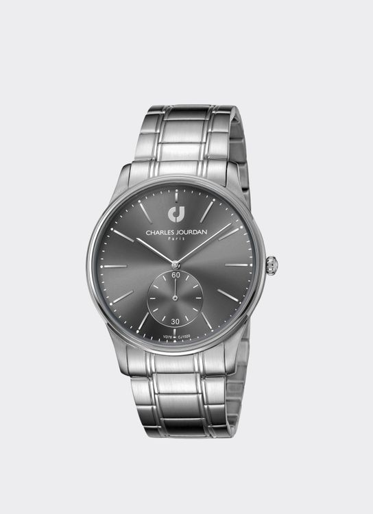 Charles Jourdan Silver CJ1020-1342 Man Watch