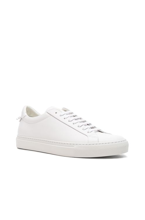 Givenchy Leather Urban Tie Knot Sneakers