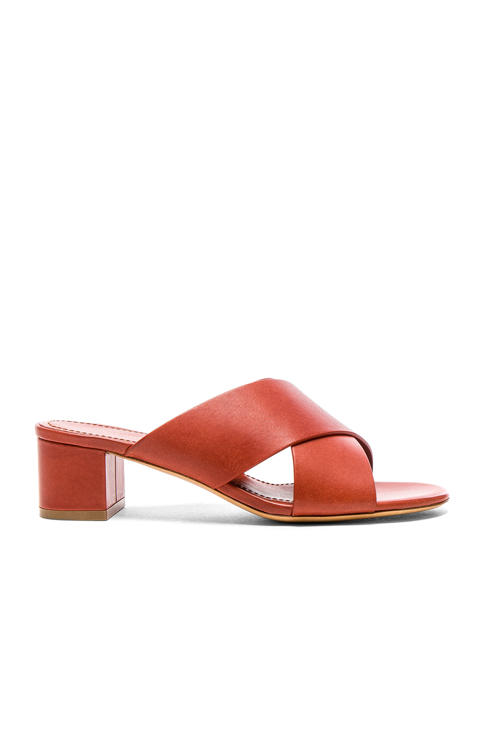 2fe307939 Buy Original Mansur Gavriel Leather 40mm X Strap Heels at Indonesia ...