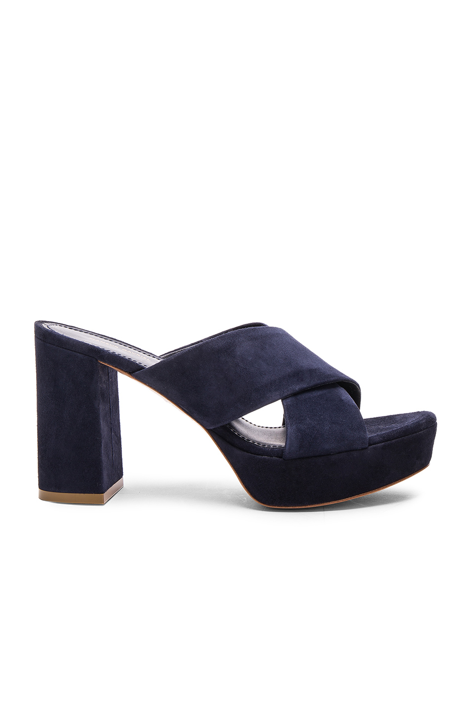 cd871576e Buy Original Mansur Gavriel Suede X Strap Heels at Indonesia | BOBOBOBO