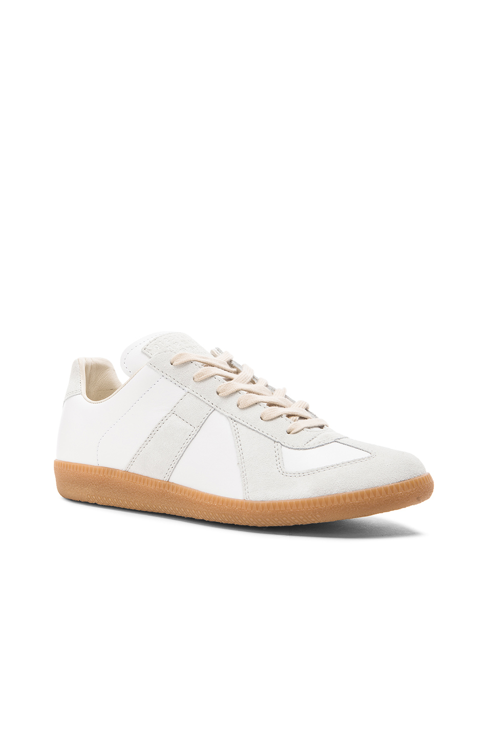 low priced 09f1c 08f53 Replica Calf & Lambskin Leather Sneakers, Maison Margiela