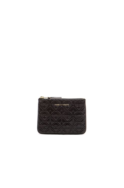 Comme des Garçons Small Star Embossed Pouch