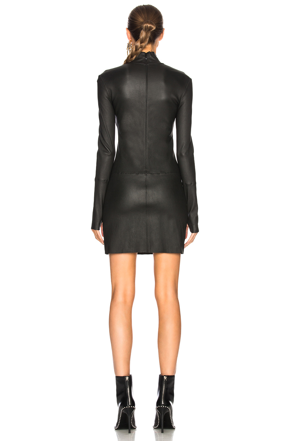 14f11bf4ad3c8 Buy Original Helmut Lang Long Sleeve Leather Dress at Indonesia ...