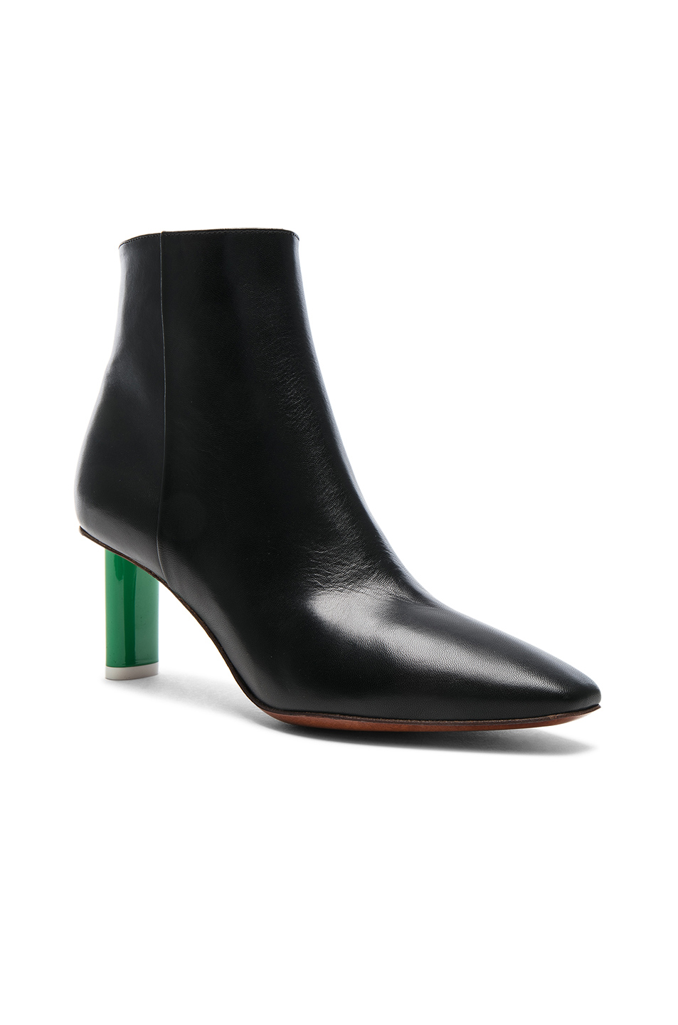 080faa81afd Buy Original VETEMENTS Lighter Heel Leather Ankle Boots at ...