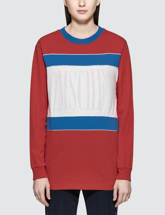 MISCHIEF Color Block L/S T-Shirt