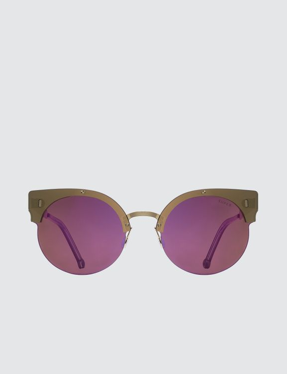Super by Retrosuperfuture Era Pink Sunglasses