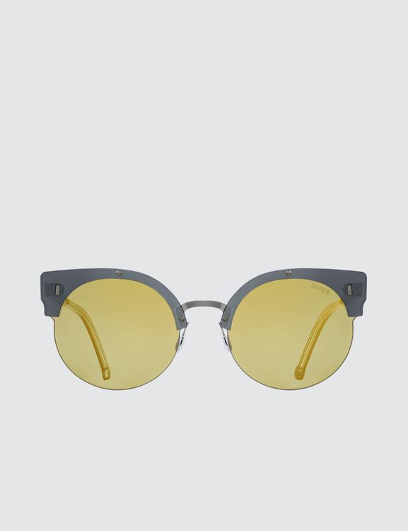 Super by Retrosuperfuture Era Gold Sunglasses