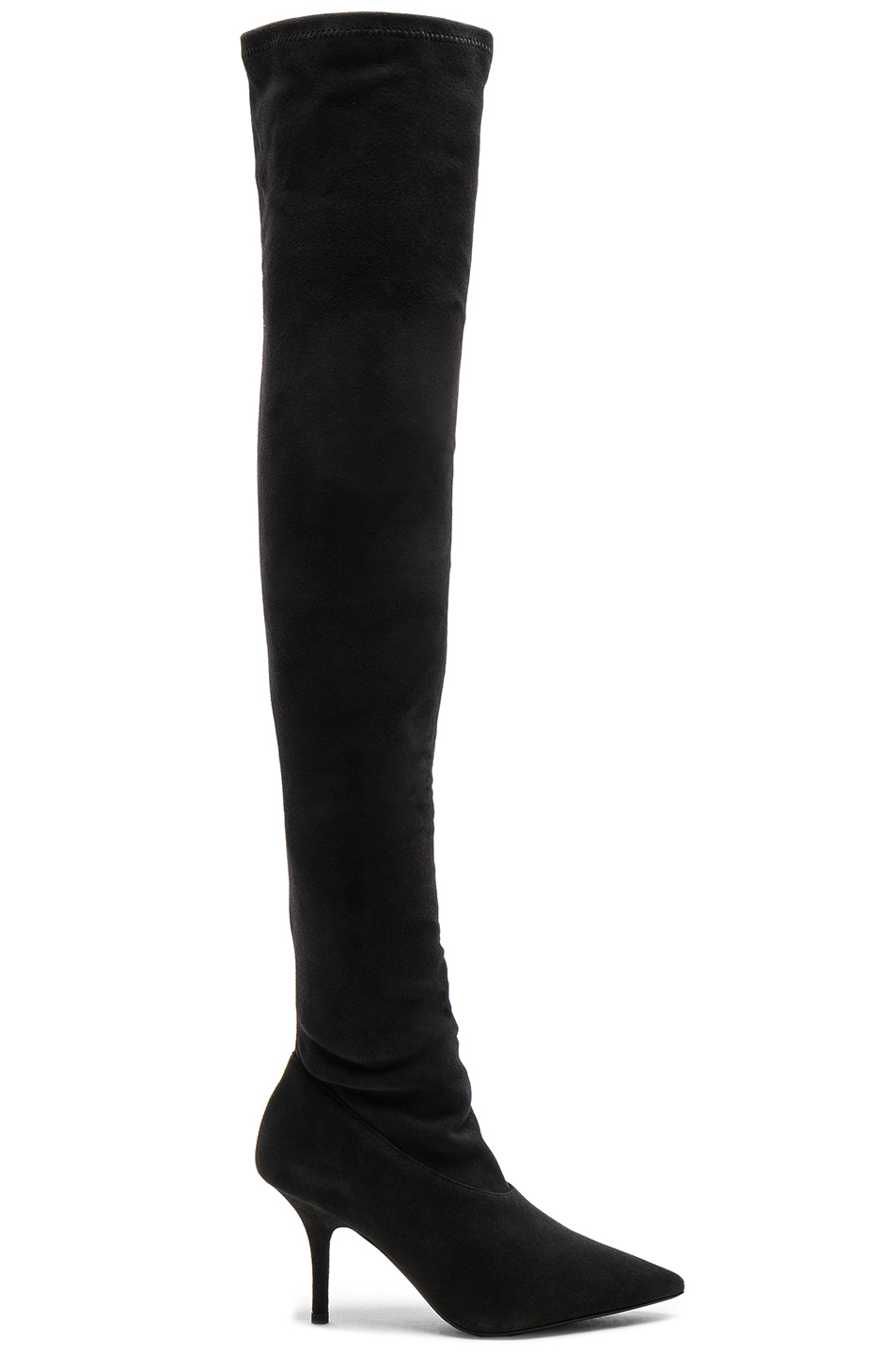 outlet store new lifestyle cheap prices Season 5 Suede Thigh High Boots, YEEZY