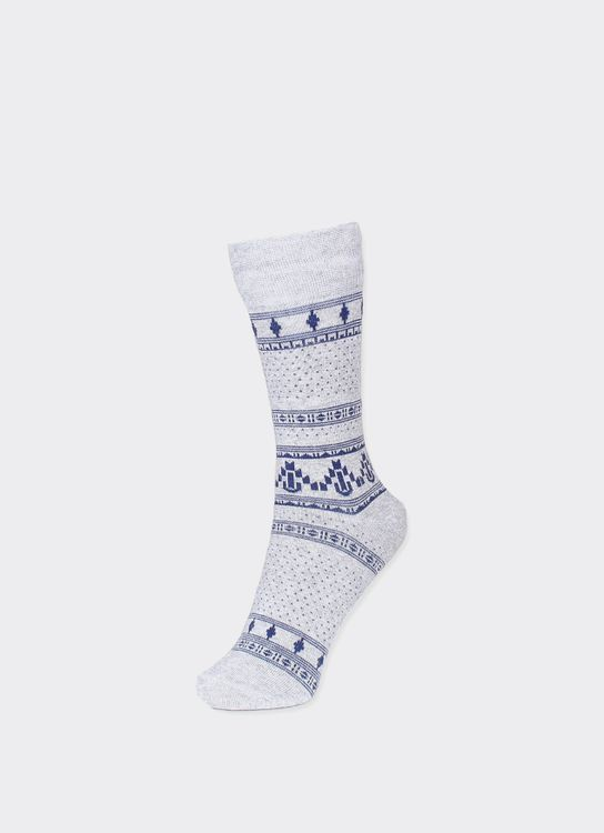 Pattent Goods Misty Gray Vinka Socks