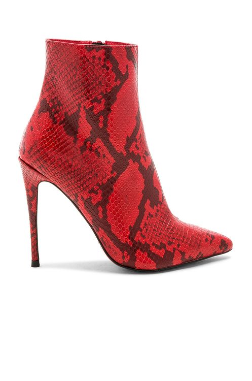 by the way. Amber Bootie