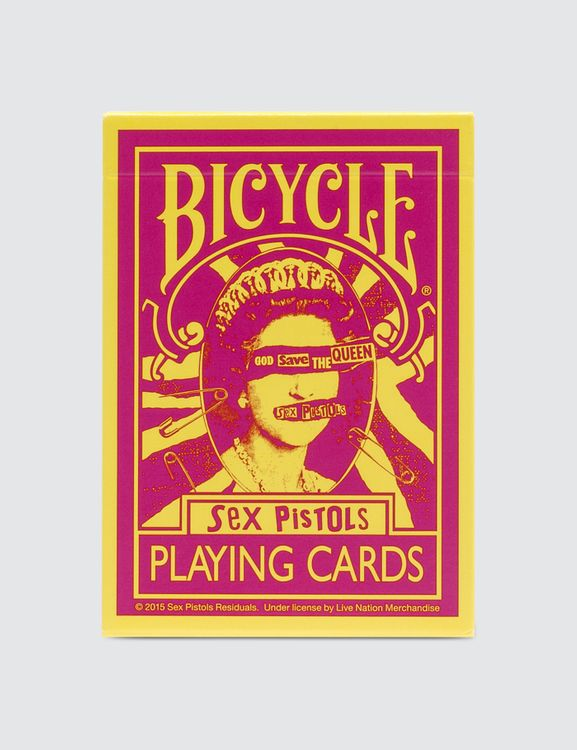 Medicom Toy x Bicycle Sex Pistols Playing Cards