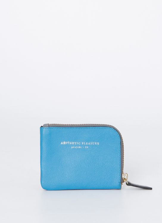 Aesthetic Pleasure Blue Krafty Wallet