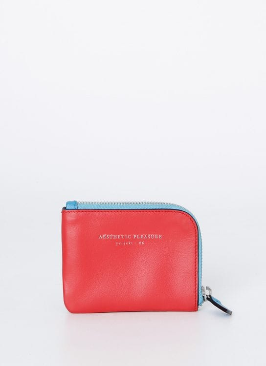 Aesthetic Pleasure Red Krafty Wallet