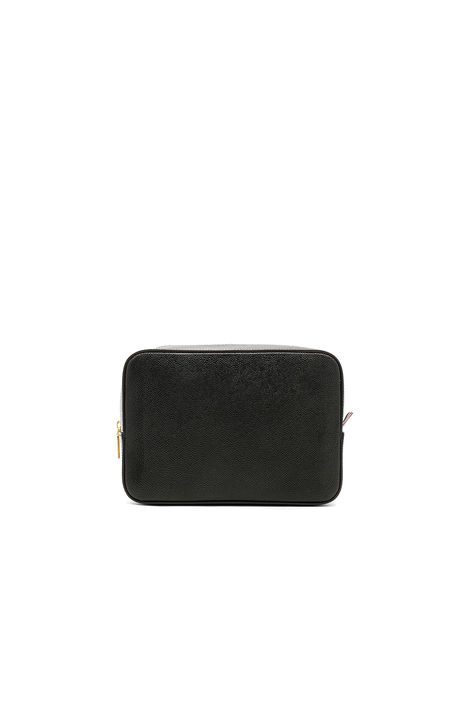 e03369f78d Jual Thom Browne Pebble Grain Wash Bag - 100% Original | BOBOBOBO