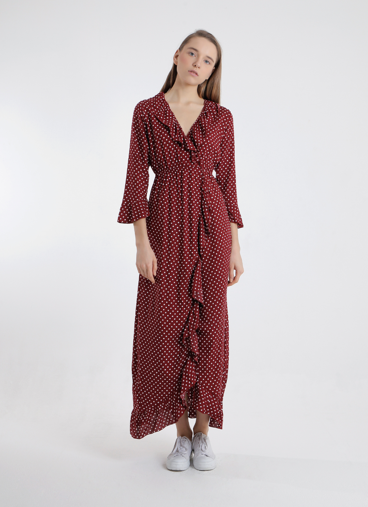 a64ac97e36d3 Buy Original Vintage Treasure Red Dolce Maxi Dress at Indonesia ...