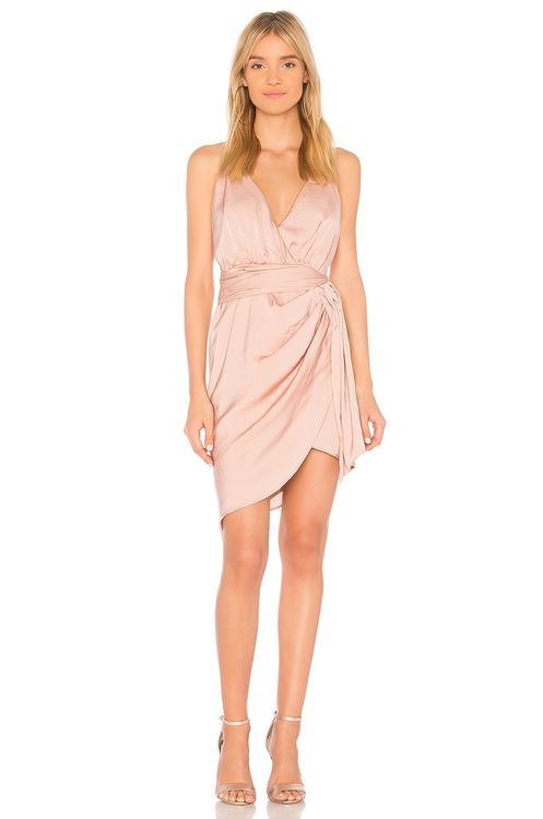 STYLESTALKER Jordana Draped Dress