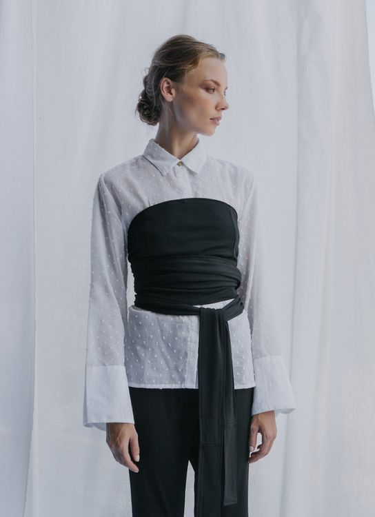 Eesome Off White Prilly Shirt