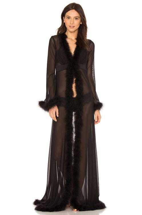 KISSKILL Glam Feather Robe