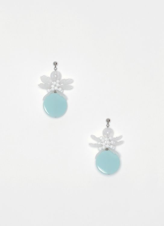 House of Jealouxy Teal Mimosa Earrings