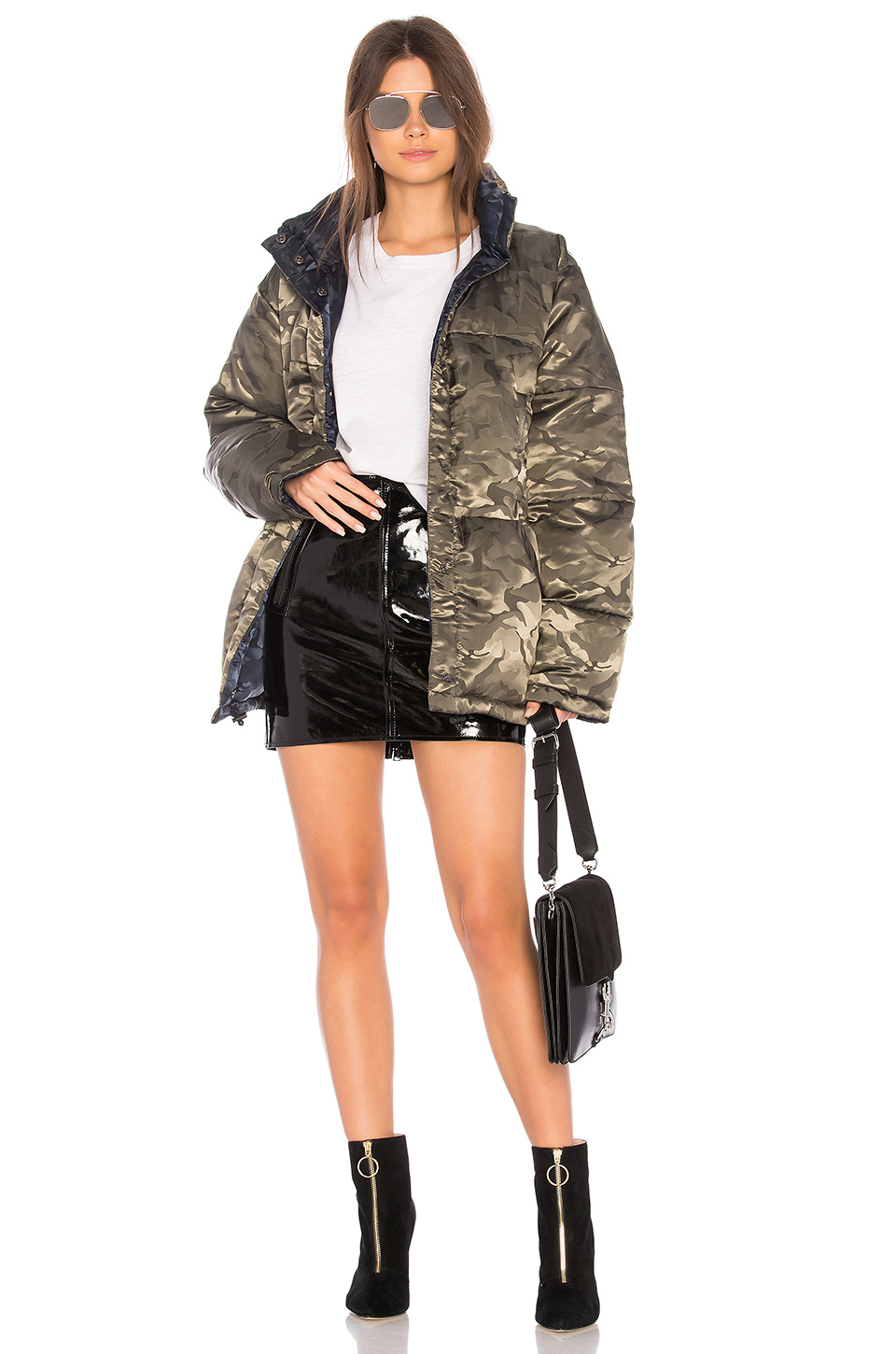87f9f0ef11a Buy Original KENDALL + KYLIE Nylon Reversible Puffer Jacket at ...
