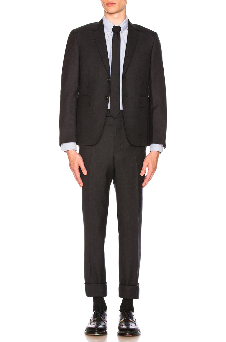 e99a5527dc53 Buy Original Thom Browne Classic Wool Suit at Indonesia