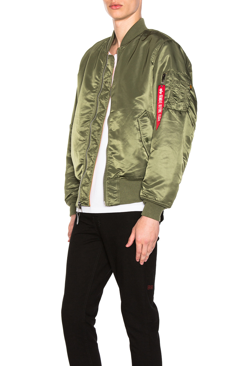 ALPHA INDUSTRIES MA-1 Blood Chit Bomber Jacket